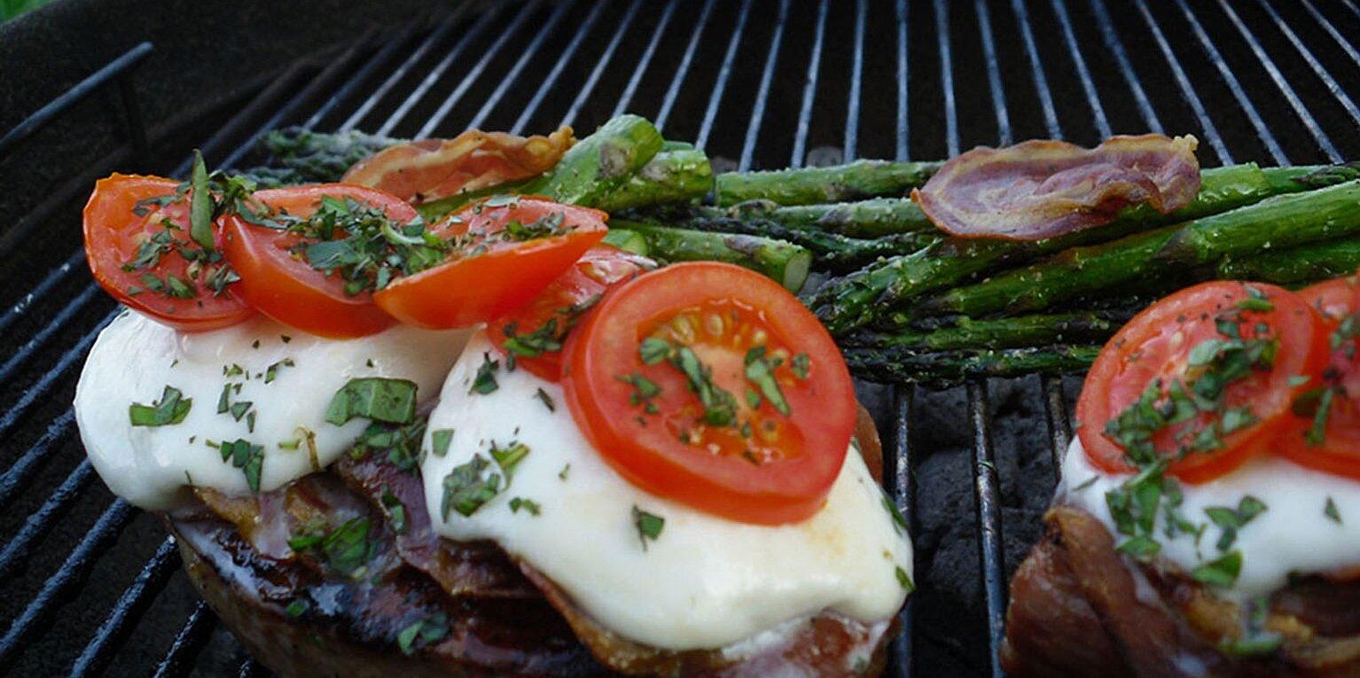 grilled italian pork chops recipe