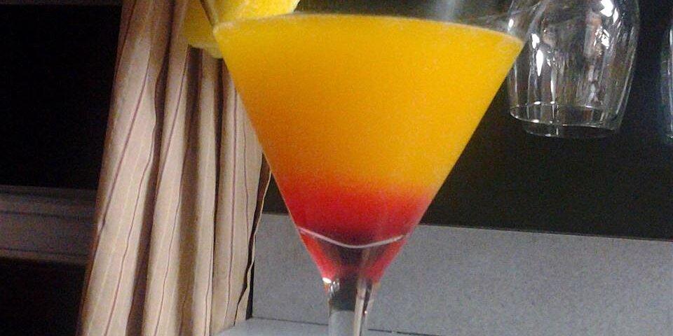 tropical martini