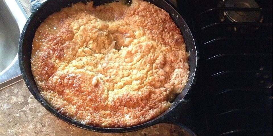 great grandmas peach cobbler recipe