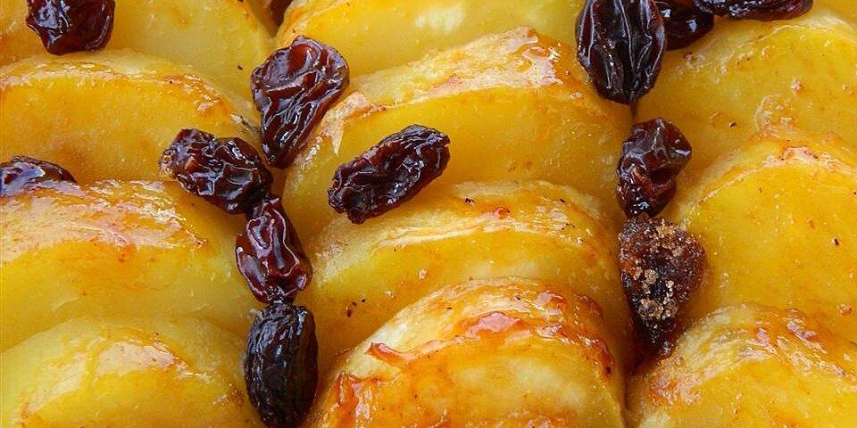 sweet potatoes with brandy and raisins recipe