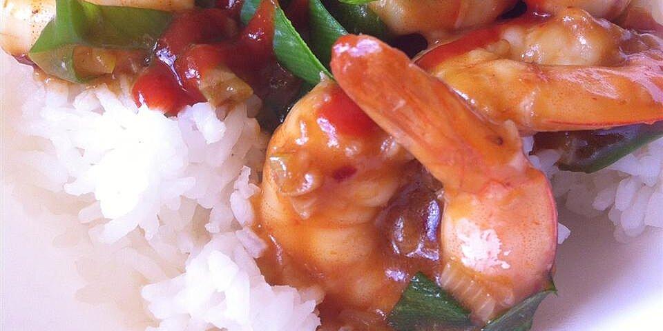 this recipe for szechwan shrimp