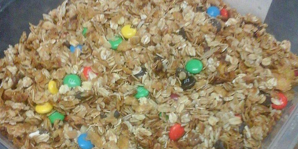 almond maple coconut granola recipe