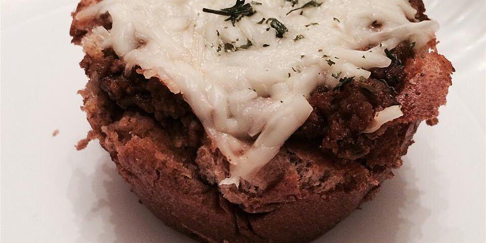 hamburger muffins recipe