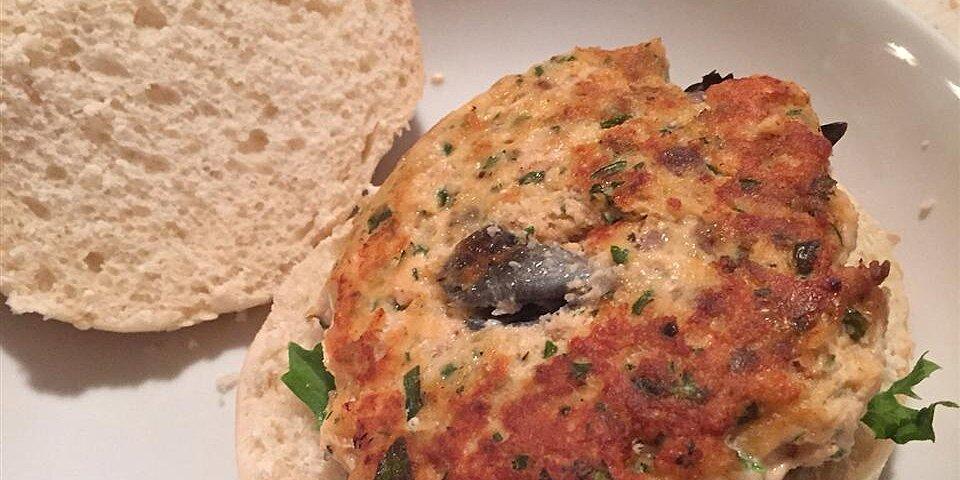 lemony salmon burgers recipe