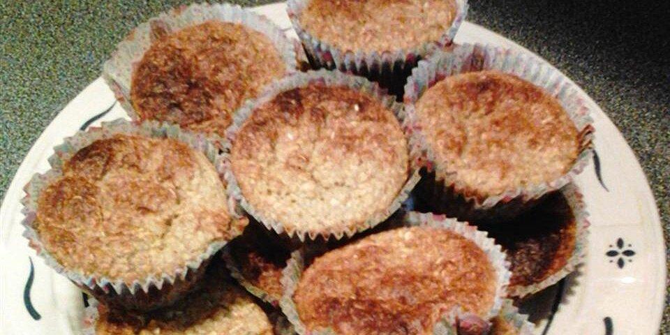 banana oatmeal breakfast muffins recipe