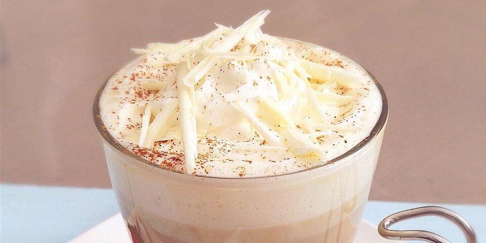 abbeys white chocolate latte recipe