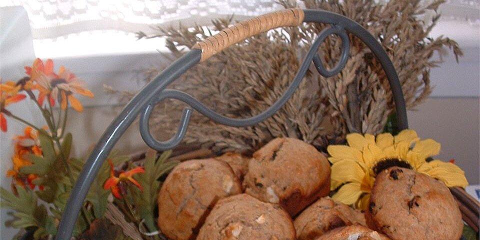 whole wheat apple muffins recipe