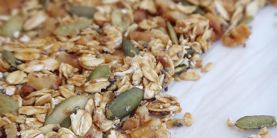 homemade granola bars recipe
