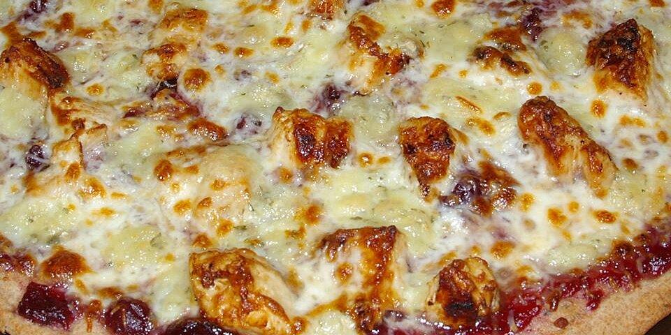 brie cranberry and chicken pizza recipe