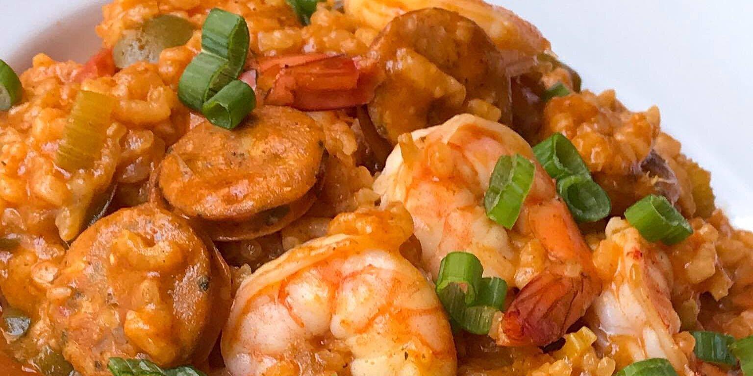 chef johns sausage shrimp jambalaya