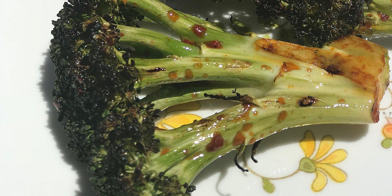 spicy grilled broccoli recipe