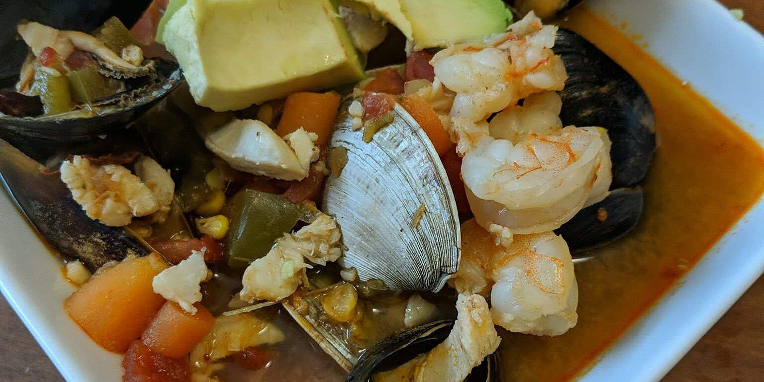 sopa de mariscos seafood soup recipe