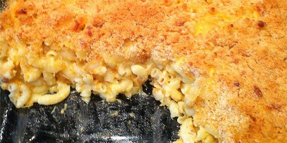 smoky four cheese macaroni bake recipe