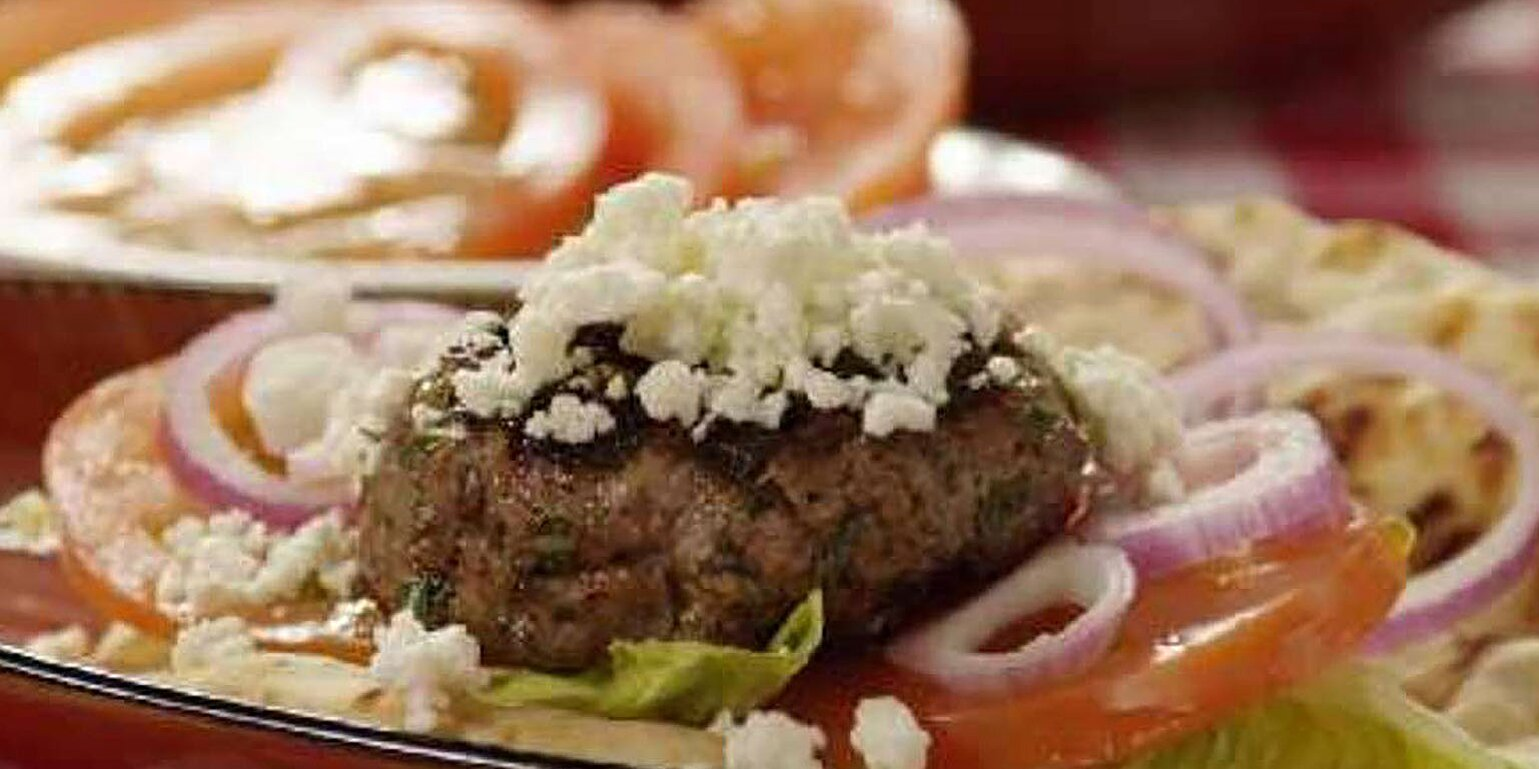 grilled spicy lamb burgers recipe