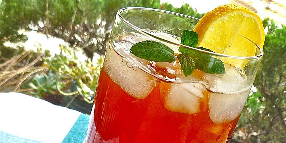 lemon mint iced tea recipe
