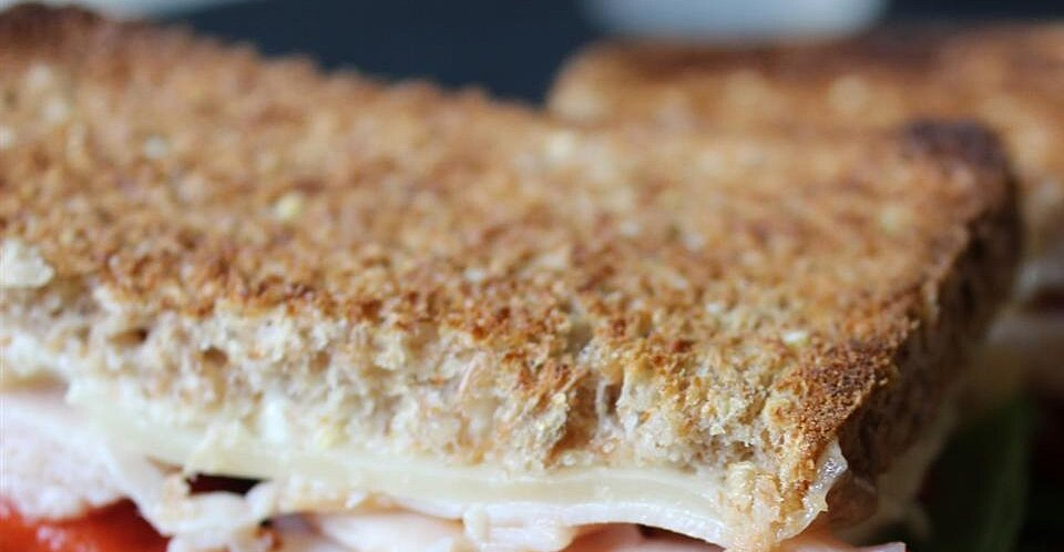Grilled Turkey and Swiss Sandwich