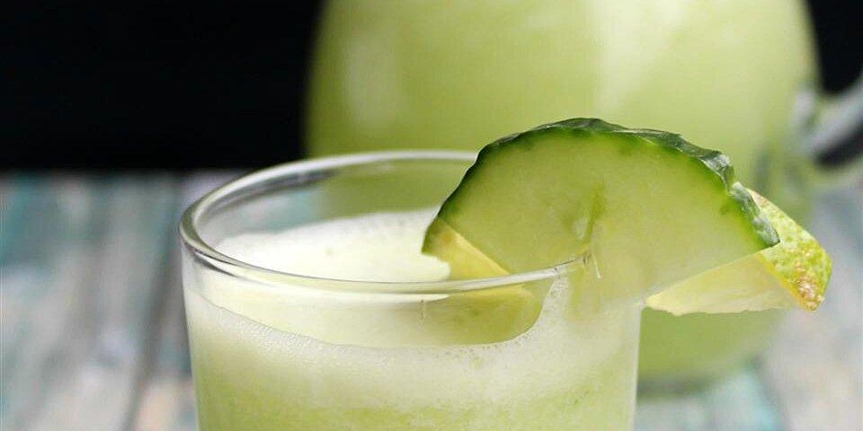 agua fresca de pepino cucumber limeade recipe