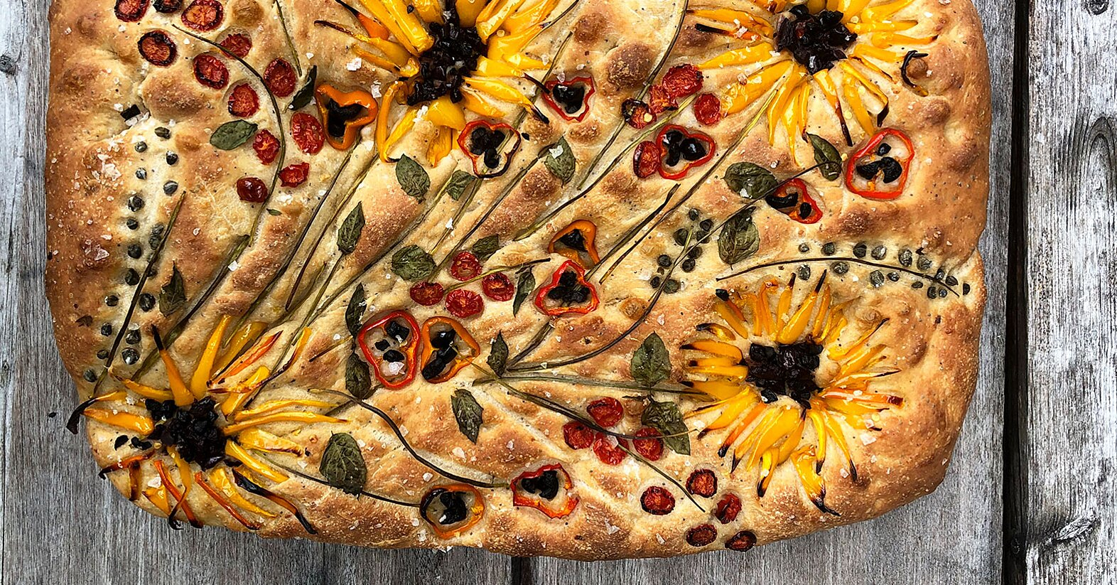 Focaccia Art Is the Prettiest (and Tastiest) Food Trend Taking Over Social Media