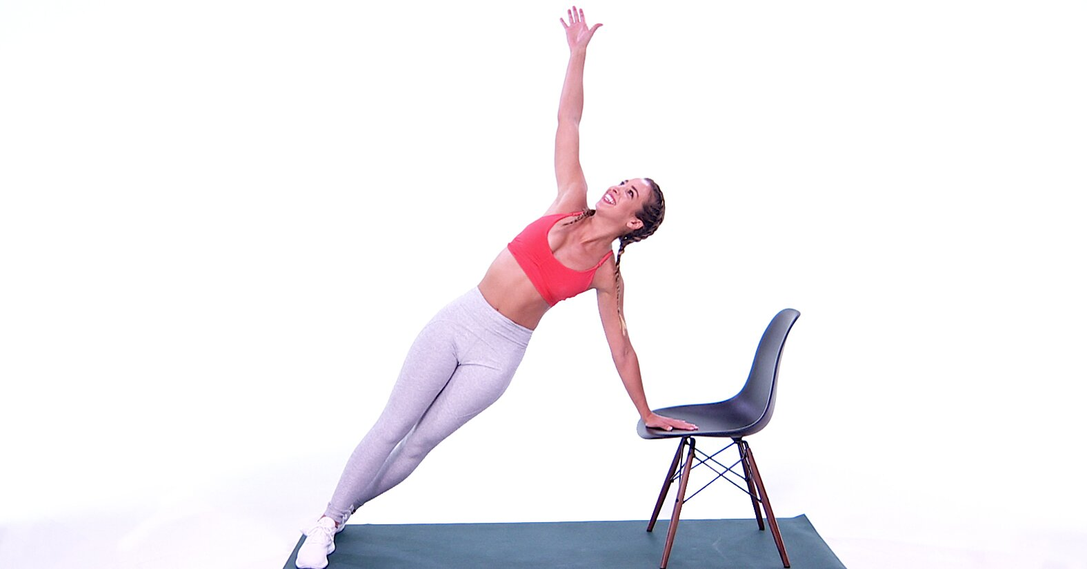 All You Need for This Upper Body Workout is a Chair