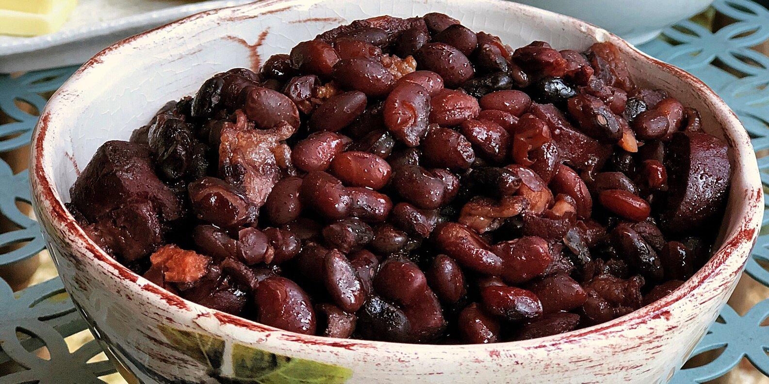 instant pot baked black beans recipe