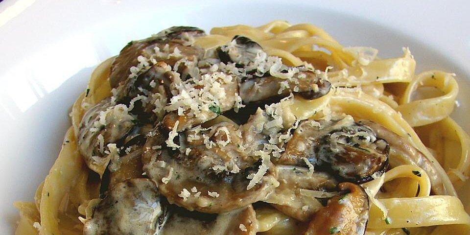 chef johns creamy mushroom pasta