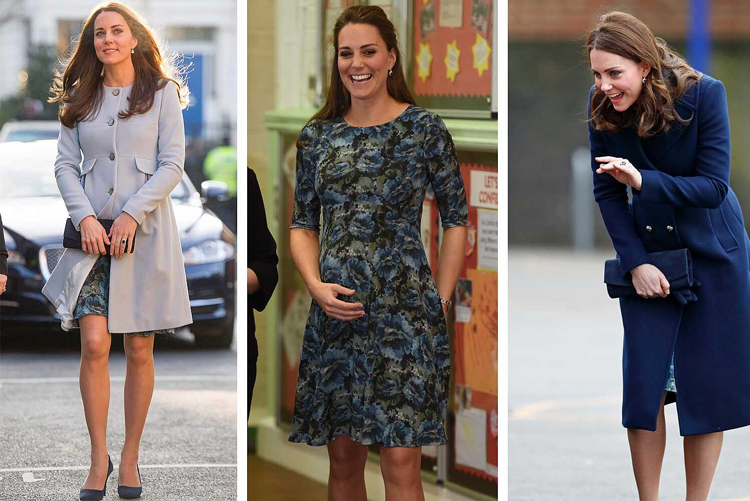 Kate Middleton Wore Her Favorite Maternity Dress To Her First Official Appearance Of 2018 Travel Leisure