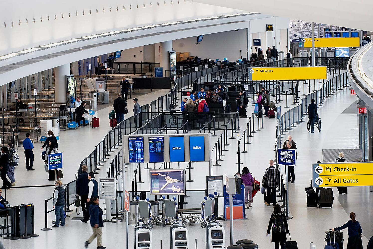 JFK Airport Terminal Guide — Tips on Terminals 1, 2, 4, 5, 7, 8 | Travel +  Leisure