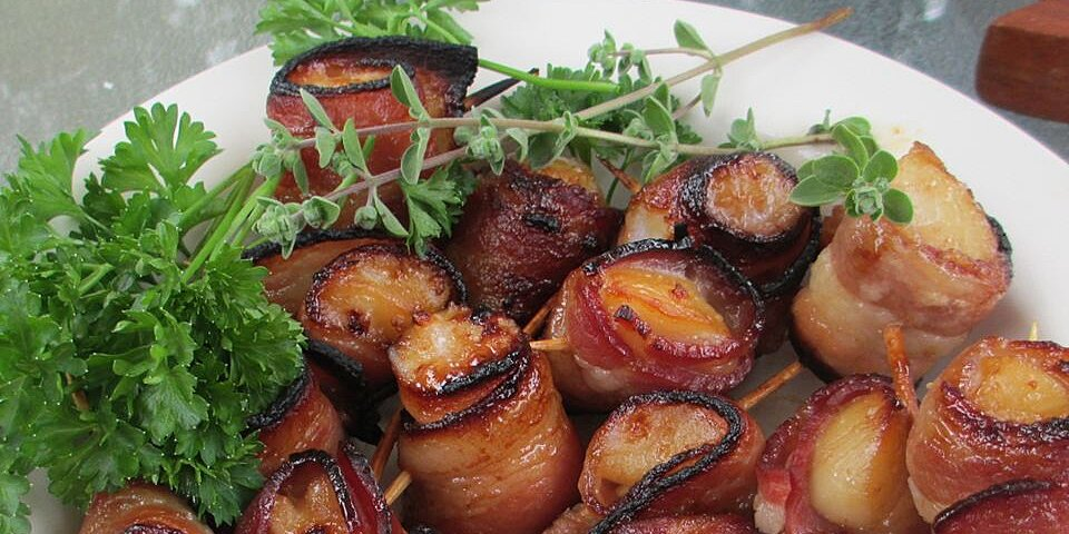 teriyaki bacon wrapped scallops recipe