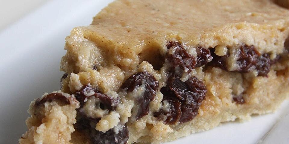 norwegian sour cream and raisin pie recipe