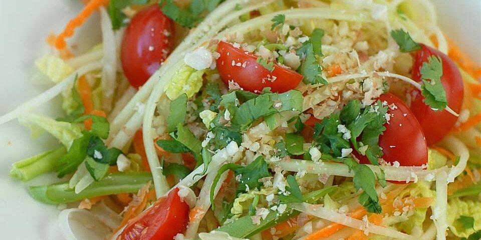 green papaya salad som tam malakor
