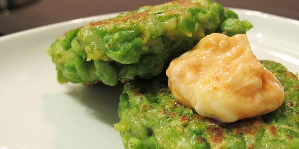 green pea patties recipe