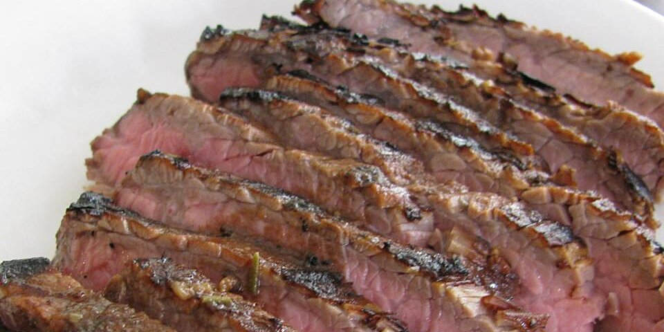 grilled coffee and cola skirt steak