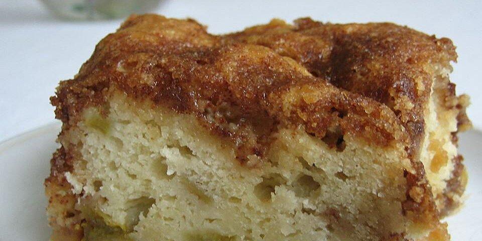 rhubarb cake i recipe
