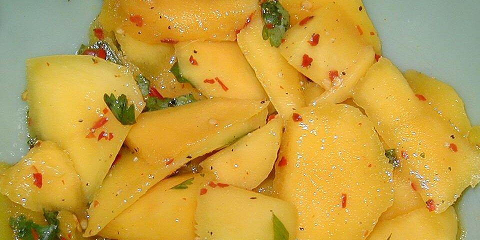 spicy mango salad recipe