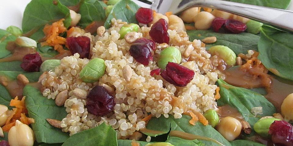super spinach salad recipe