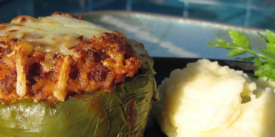 kelseys favorite stuffed green peppers recipe