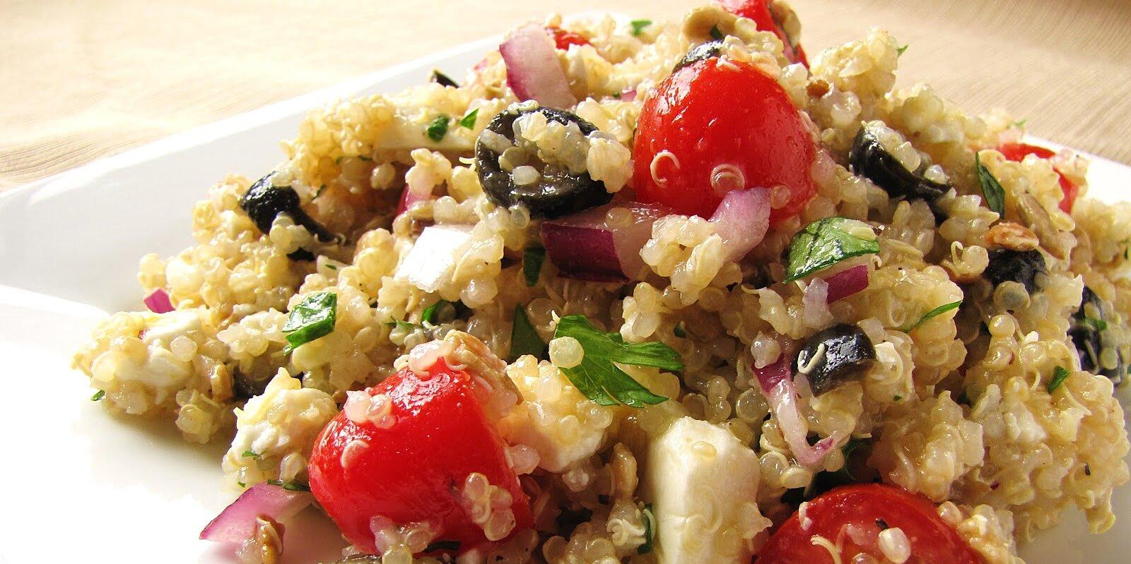 diannes lemon feta quinoa salad recipe