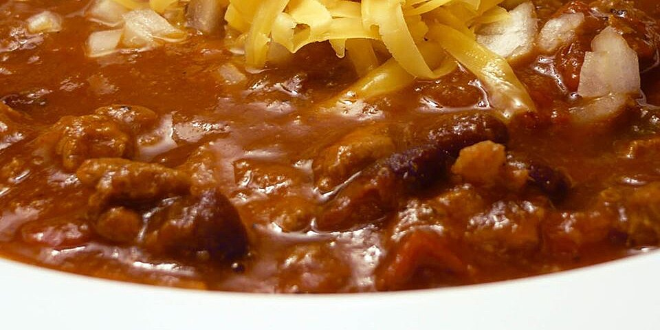 chris chili recipe