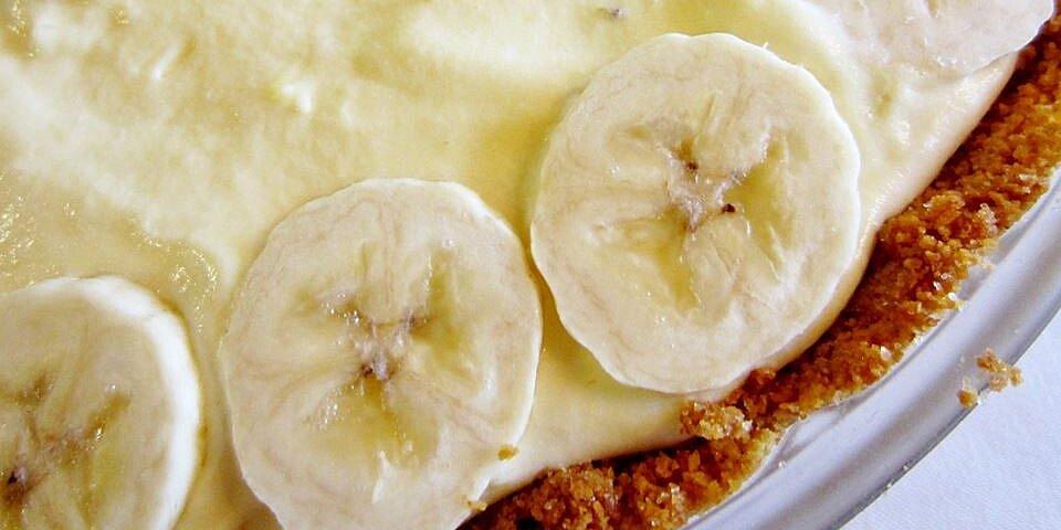banana cream pie iv recipe