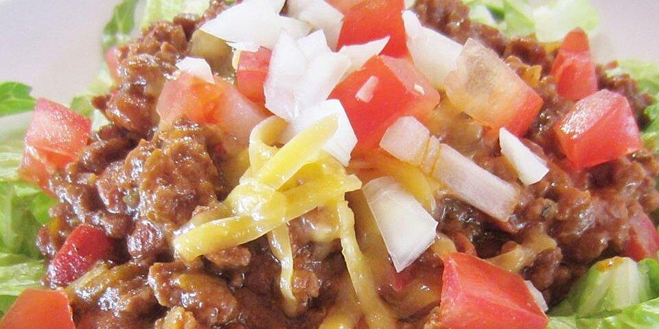 moms hot mexican salad recipe