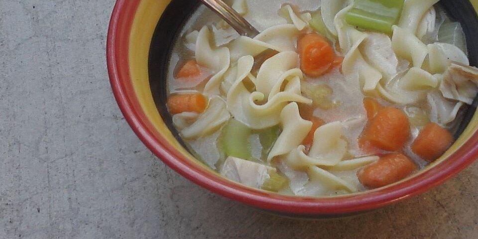 regular chicken soup recipe