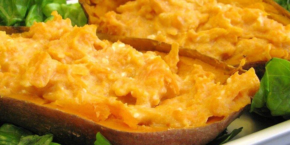 twice baked sweet potatoes recipe