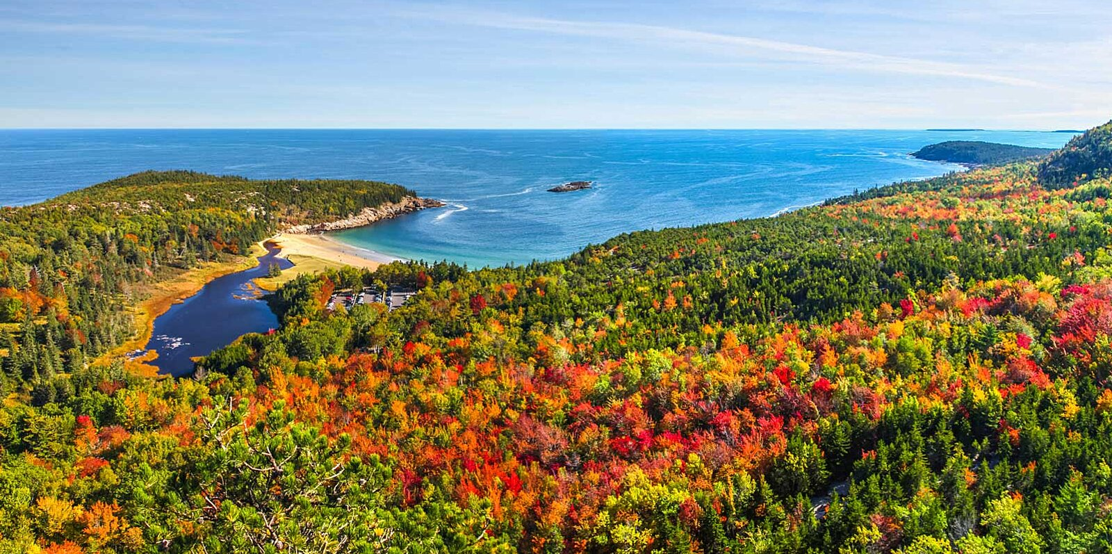 This Map Will Tell You Exactly When Fall Foliage Will Peak in Your State This Year
