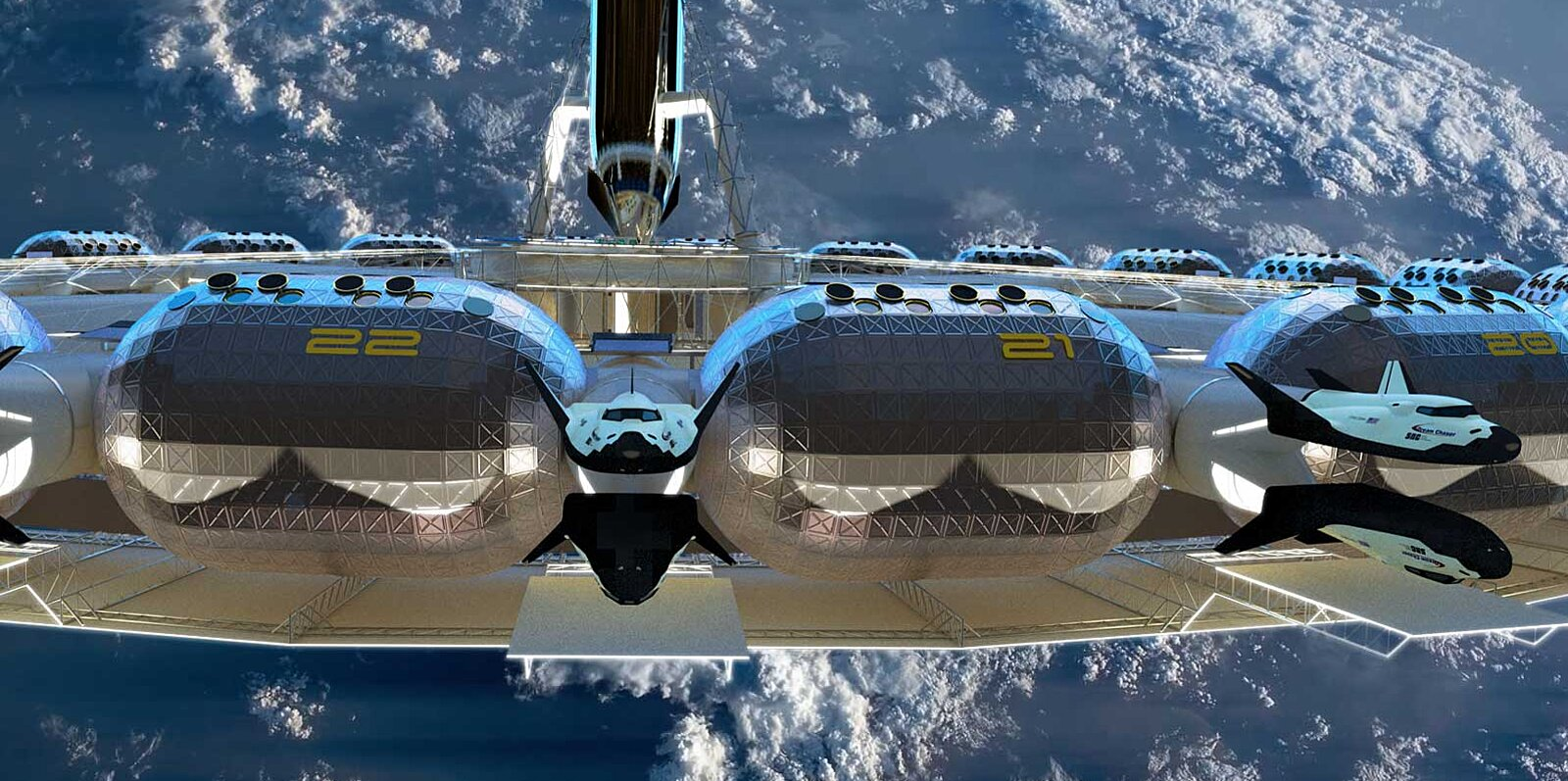 The First Commercial Space Hotel Plans to Have a Low-gravity Basketball Court and Views of Earth From Bed