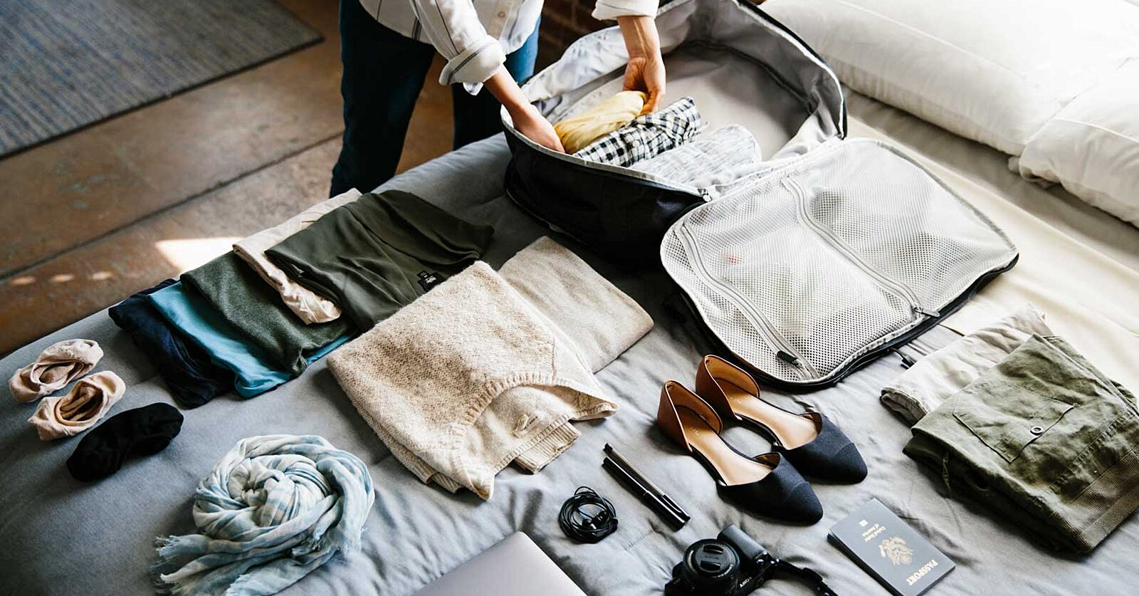 3 Tips for Packing Lighter Every Single Time, According to Tortuga Backpacks' Co-founder