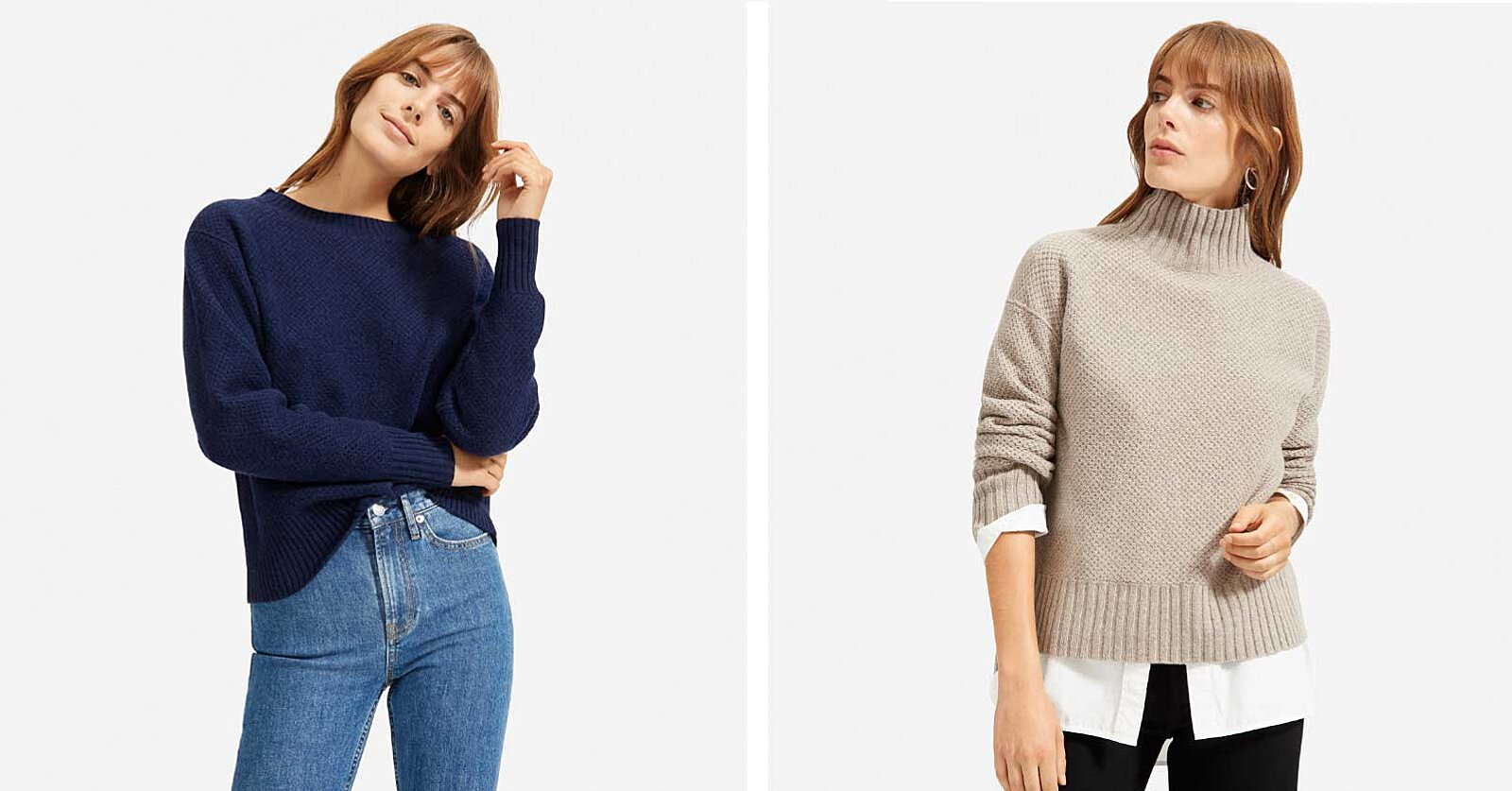 Everlane Just Launched Fall's Coziest Sweaters — and You're Going to Want One in Every Color