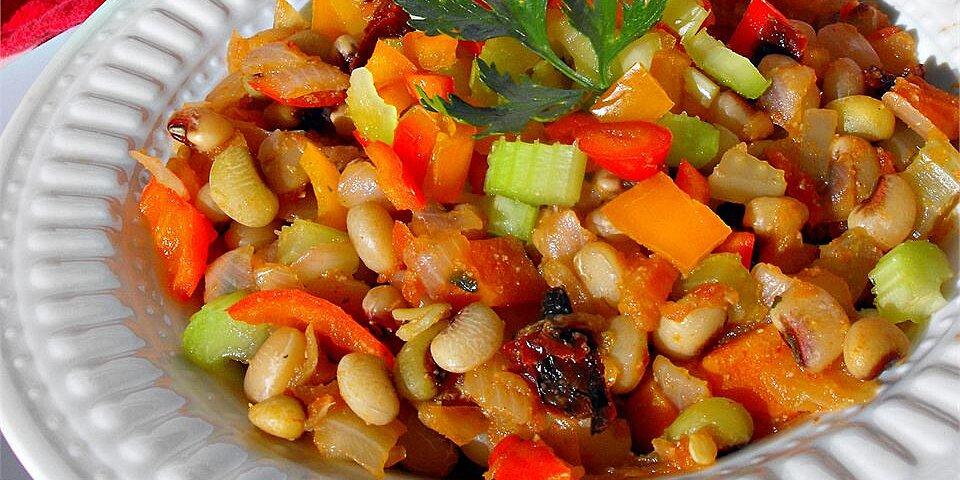 spicy chipotle black eyed peas recipe