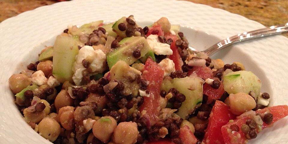 chickpea lentil salad recipe