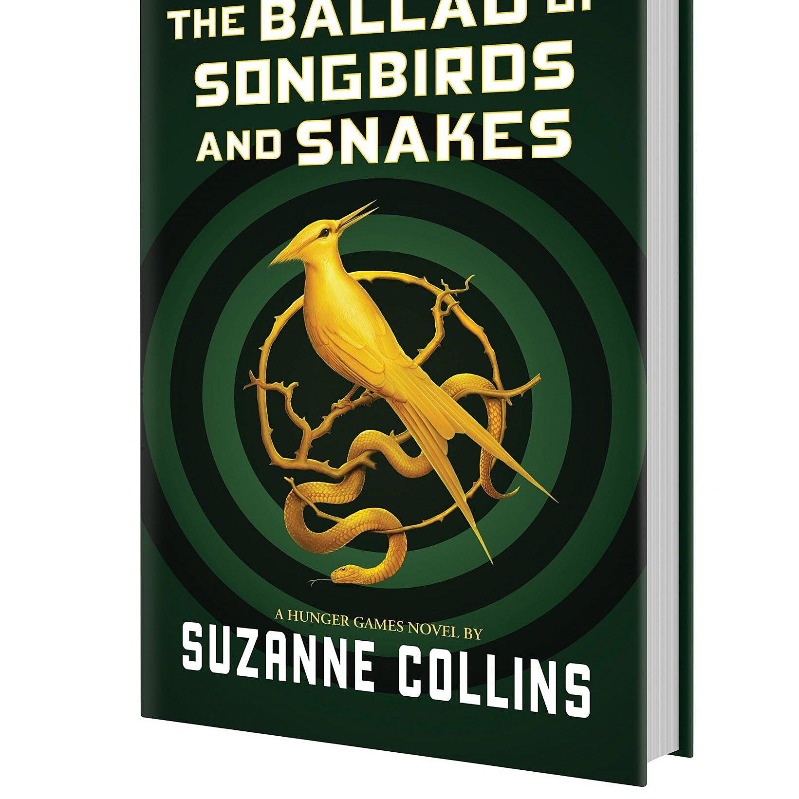 New Hunger Games Book Prequel Gets A Title Cover Art Ew Com