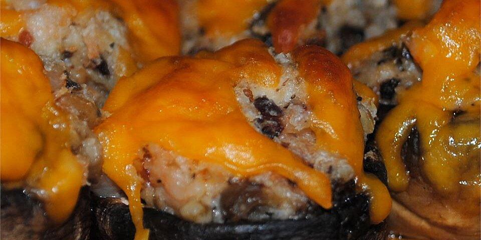 shrimp stuffed mushrooms recipe